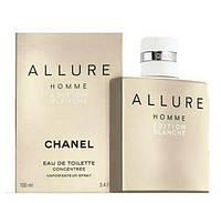 Мужская туалетная вода Chanel Allure Homme Edition Blanche (Шанель Алюр Хомм Эдишен Бланш) 100 мл