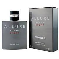 Мужская туалетная вода Chanel Allure Homme Sport Eau Extreme (Шанель Аллюр Хомм Спорт Е Экстрим) 100 мл