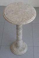 Стол из натурального камня яшма, фото 1