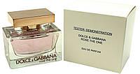 Тестер женской парфюмерной воды Dolce & Gabbana Rose The One (Дольче Габбана Роуз Зе Ван) 75 мл