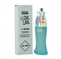 Тестер женской туалетной воды Moschino Cheap and Chic I Love Love (Москино Чип энд Чик Ай Лав Лав) 100 мл