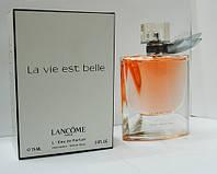 Тестер женской парфюмерной воды Lancome La Vie Est Belle (Ланком Ля Ви Э Бель) 75 мл