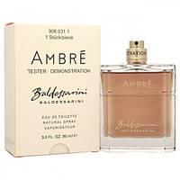 Тестер мужской парфюмерной воды Baldessarini Baldessarini Ambre (Балдессарини Балдессарини Амбре) 90 мл