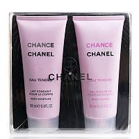 Подарочный набор Chanel Chance Eau Tendre (гель для душа + лосьон для тела)