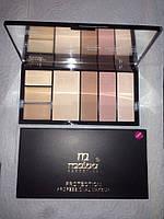 MALVA ― Палитра для коррекции лица Professional Make-Up Palette №03 M-470, фото 1
