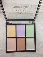 Палитра корректоров (консиллеров) для макияжа 6 цветов М-476, фото 1