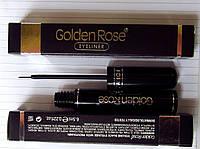 Подводка для глаз черная Golden Rose с PRO-витамином B-5