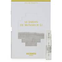 Hermes Le Jardin De Monsier Li edt 2ml lady vial