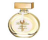 Женский парфюм Antonio Banderas Her Golden Secret   (Антонио Бандерас Хе Голден Сикрет) 80 мл