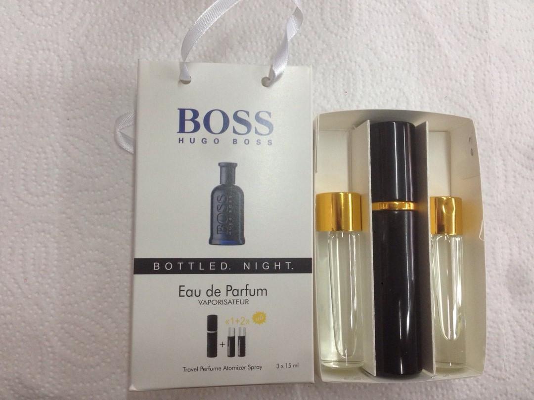 подарочный набор мужской Hugo Boss Boss Bottled Night хьюго босс