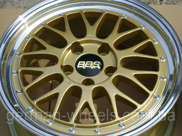 """Диски 19"""" BBS LM Gold"""