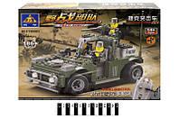 Конструктор Brick  Военная машина 186 дет. 86003