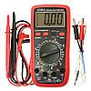 Цифровой мультиметр тестер  VC61A  измерение температуры и емкости