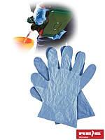 Рабочие перчатки полиэтиленовые