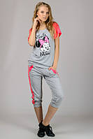 Женская трикотажная футболка Комби-Реглан (Mause)