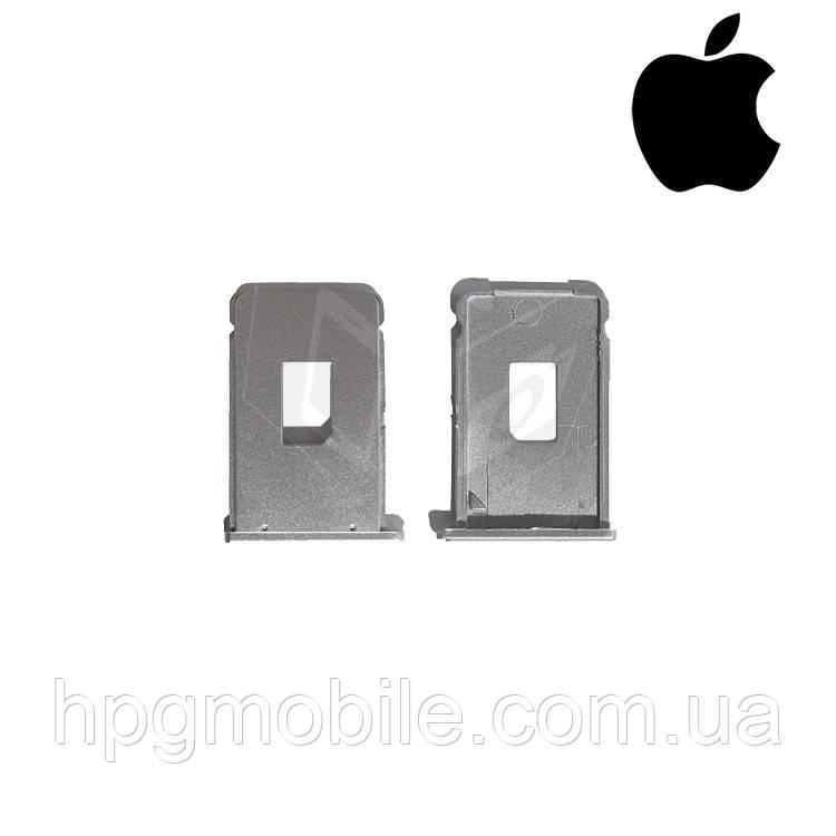 Держатель SIM-карты для Apple iPhone 2G, оригинал (серебристый) - HPG Mobile. Комплектующие, запчасти, аксессуары и другие товары по лучшим ценам в Харькове