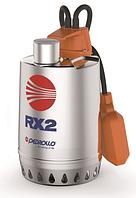Дренажные насосы в нержавеющем корпусе RX и RX-Vortex Pedrollo