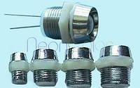 Тримач вивідного світлодіода 3 мм (металевий), фото 1