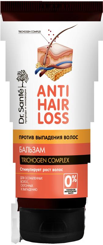 """Бальзам для ослабленных и склонных к выпадению волос ТМ""""Dr.Sante Anti Hair Loss"""", 200 мл."""