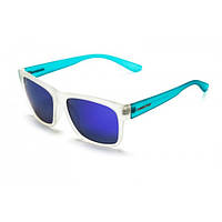 Очки  Blizzard  Rio Polar POL  white blue-smoke blue revo mirror, фото 1