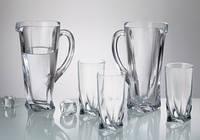 Набор Quadro для воды (стаканов 350мл , Кувшин.700мл) 7 предметов Bohemia b99999 99A44 166088