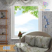 """Одностворчатое глухое окно KBE Eco 88 800х1400 """"Окна Маркет"""""""