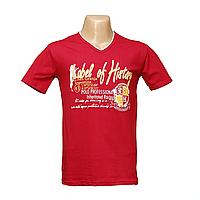 Молодежная Турецкая футболка 100% коттон  H12660-1