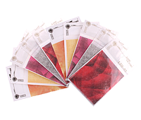 Декоративная ткань для дизайна Lady Victory (12 цветов/уп) LDV LZH-02 /41-0