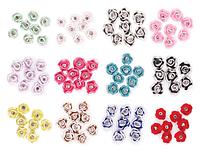 Акриловые цветы со стразами «Swarovski» для дизайна Lady Victory LDV FL-06 /61-0