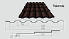 Металлочерепица Valencia (покрытие полиэстер)
