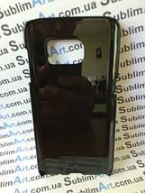 Чехол для 2D сублимации пластиковый на Samsung Galaxy S7 черный, фото 2