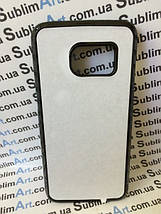 Чехол для 2D сублимации пластиковый на Samsung Galaxy S7 черный, фото 3