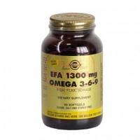 Омега  3-6-9 и ЭЖК-комплекс капсул для кожи,молодости,сосудов,ума (60капс.,Солгар,США)