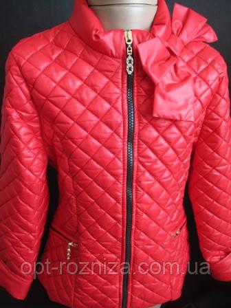 Куртки из плащевки для девочек.
