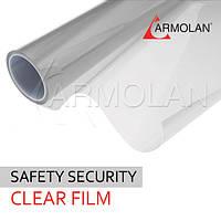 Бронирование стекла пленкой Safety 4 mil ( 115 мкм)