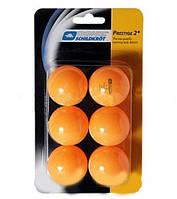 Шарики (мячики) для наст. тенниса DONIC PRESTIGE 2star (6шт) МТ-658028