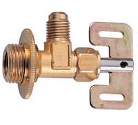 Вентиль для заправки кондиционера (из балонов с резьбой внутр. 12х1,25, внешн. 18х1,25) (шт.)