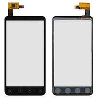Touchscreen (сенсорный экран) для Zopo ZP100 Pilot, оригинальный (черный)