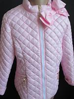 Весенние куртки для девочек.
