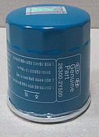 Фильтр масляный оригинал Hyundai Getz 1,1 бензин 02-09 гг. (26300-2Y500)