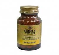 Селен -антиоксидант , здоровья сердечно-сосудистой системы(100табл.,Солгар ,США)
