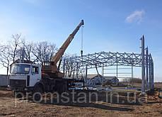 Проект и строительство  склада, сто, автосалона, фото 2