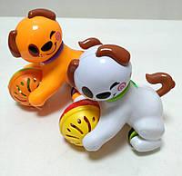 Игрушка-погремушка Щенок,  Huile Toys.