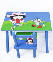 """Стол +  2 стула 2407-104 (W02-887(Н921) Дора. Столик+2 стульчика """"Дора"""""""