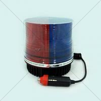 Проблесковый маячок стробоскоп (Мигалка-HS 51016 BL/RD) красный-синий