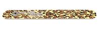 Прямая пилка для натуральных ногтей Lady Victory 100/180 грит  LDV S-FL3-16B /53-0
