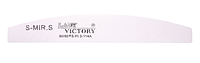 Белая пилочка в форме купола LDV Lady Victory S-FL3-114А /2-0