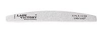 Серая пилочка в форме купола 100/100 грит Lady Victory LDV S-FL3-115В /85-0