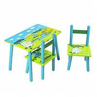 """Стол +  2 стула 2880-4(2802-12) Слоник. Столик+2 стульчика """"Слоник"""""""