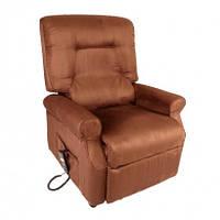 """Кресло подъемное с одним мотором """"Sirenella1"""" (цвет: красный / синий / коричневый), пульт управления, переменн"""